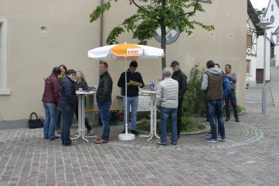 Wahlstand Ortskern 04.05.2019 -